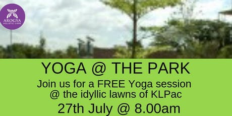 FREE Yoga@thePark at KLPAC on 27th July 2019 tickets