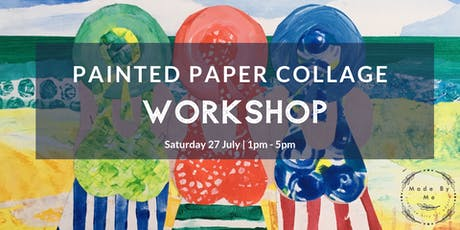Painted Paper Collage Workshop tickets