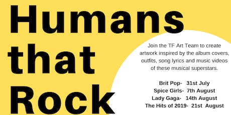 Humans that Rock the World (Inspired by Music and Musician)  tickets