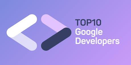 Top 10 služeb z Google Web Developers tickets