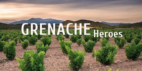 Grenache Heroes - Wine Tasting Class tickets