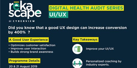 Digital Health Audit: User Experience (UX) tickets