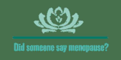 Menopause Education