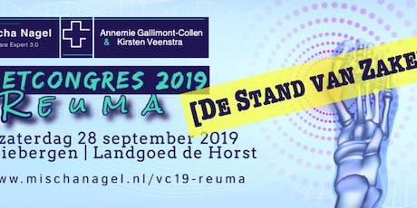 Voetcongres 2019 - Reuma - De Stand van Zaken tickets