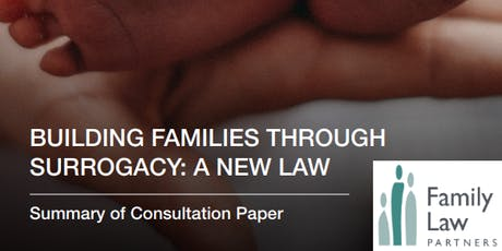 "Building families through surrogacy: a new law"" - a consultation event (Brighton) tickets"