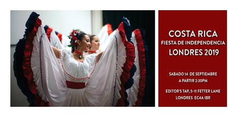 Costa Rican Independence Day Party - London 2019 tickets