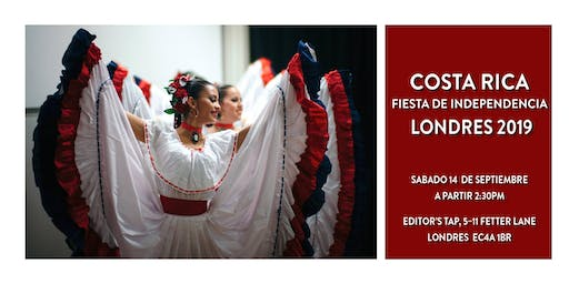 Costa Rican Independence Day Party - London 2019