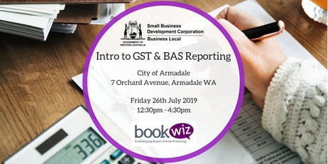 Introduction to GST & BAS Reporting tickets