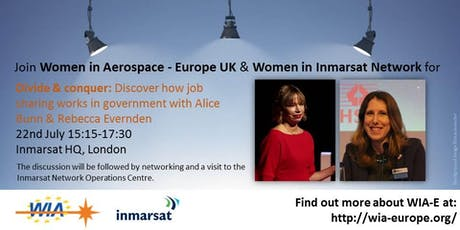 WIA-E UK & WIN discuss job sharing with Alice Bunn & Rebecca Evernden tickets