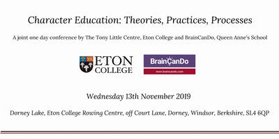 Character education: theories, practices, processes 13th November, 2019
