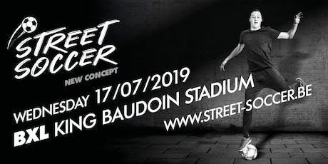 Street Soccer: BXL - 17/7 billets