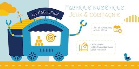 Stage vacances - Fabrique Numérique à la Fabulerie tickets