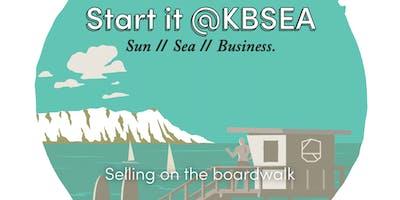 Selling on the boardwalk