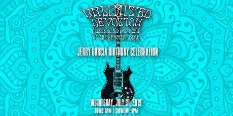 Unlimited Devotion - Celebrates Jerry Garcia's Birthday at 1904 Music Hall tickets