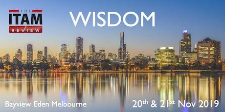 Wisdom Australia 2019 tickets