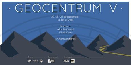Geocentrum V.  20-21-22 Septiembre entradas