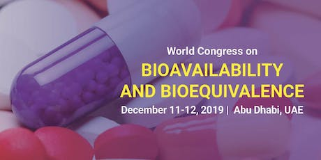 World Congress On Bioavailability & Bioequivalence tickets