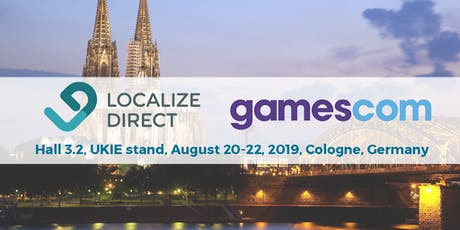Game Localization Consulting at Gamescom Tickets