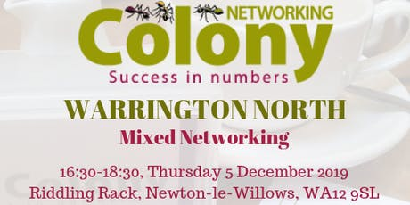 Colony Networking (Newton) tickets