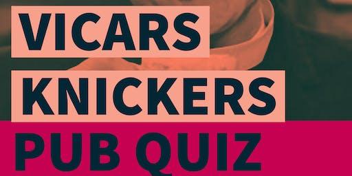 The Vicar's Knickers Pub Quiz