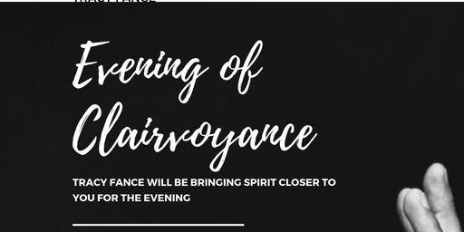 18-09-19 Evening of Clairvoyance Hawkinge with Tracy Fance
