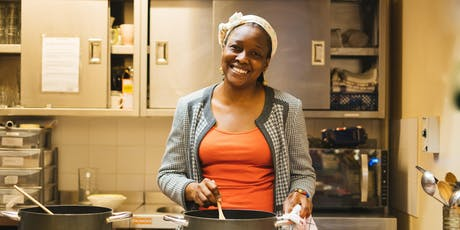 Vegan Nigerian cookery class with Elizabeth tickets