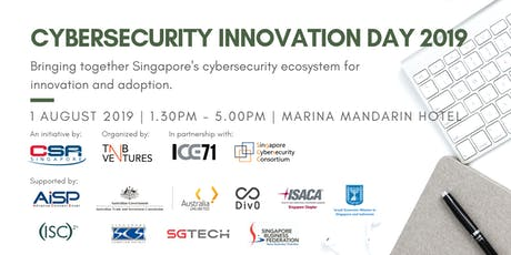 Cybersecurity Innovation Day 2019 tickets
