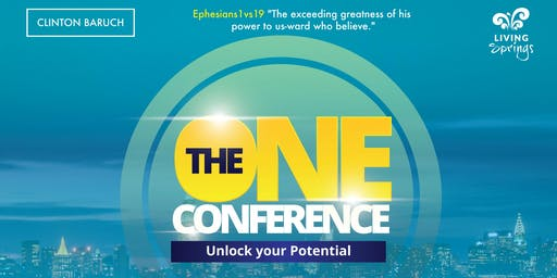 The ONE CONFERENCE - Unlock your potential