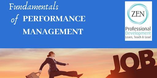Performance Management Fundamentals