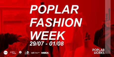 Poplar Fashion Week 2019 tickets