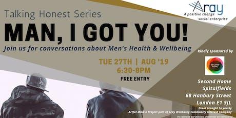 Men's Health: Man, I got you! tickets