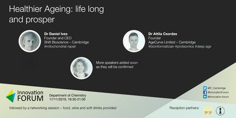 Healthier Ageing: life long and prosper tickets