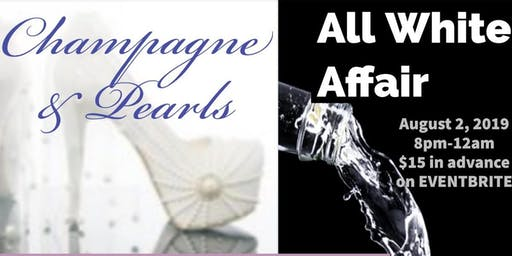 Champagne & Pearls All White Affair