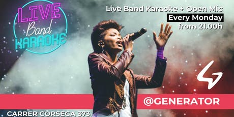 Live Band Karaoke + Open Mic @Generator Hostel entradas