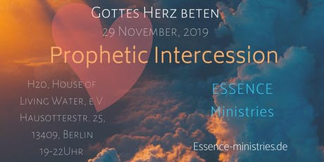 Prophetic Intercession Tickets