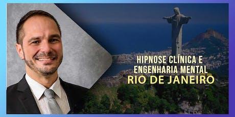 Hipnose Clínica e Engenharia Mental com André Percia no Rio de Janeiro ingressos