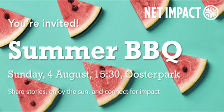 Net Impact Amsterdam Summer BBQ tickets