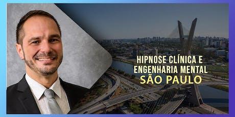 Hipnose Clínica e Engenharia Mental com André Percia em São Paulo ingressos
