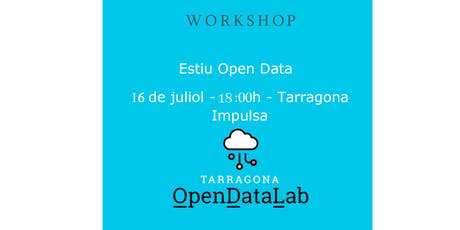 Workshop #EstiuOpenData entradas