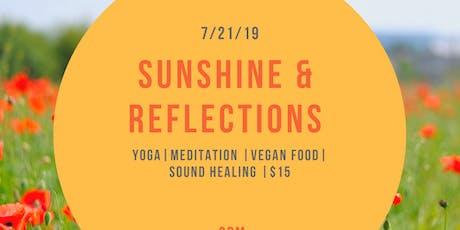 Sunshine & Reflections  tickets