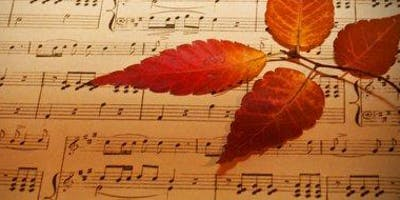 Autumn Concert 2019 - Saturday 19th October