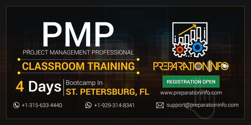 PMP Classroom Training & Certification Program in St. Petersburg, Florida