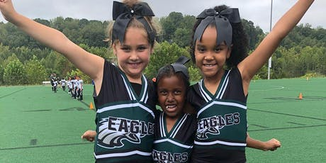 Greensboro Eagles Elite Cheer Camp - Ages 5-14 - FREE tickets