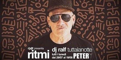 Offerta Hotel a Riccione Dj Ralf Peter Pan Riccione  29 Luglio 2019