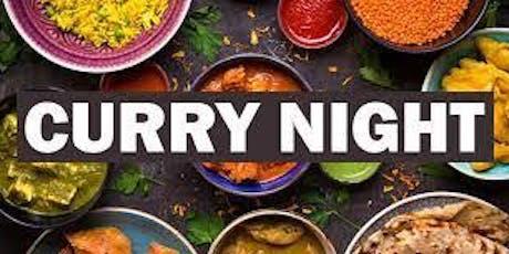International Womens Day Fundraiser curry night tickets