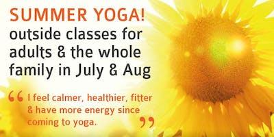 Summer ***** Yoga Class