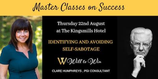 Identifying and avoiding self-sabotage