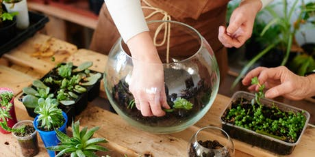 Terrarium Building Bar with Miracle-Gro - Woodfield tickets