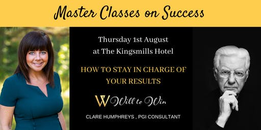 How to Stay in Charge of Your Results