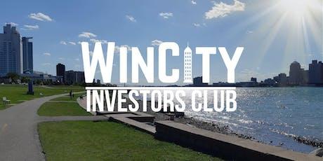 Wincity Investors Club Jul 27'th, 2019 tickets